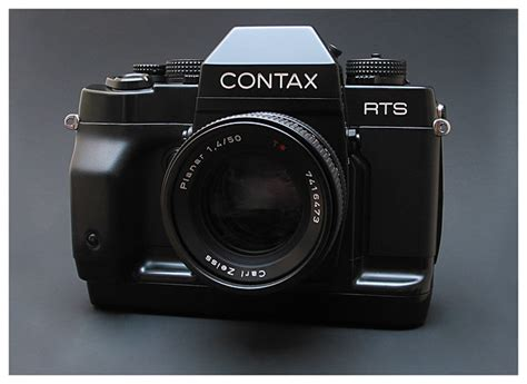 Contax RTS-3 with CZ Planar 1