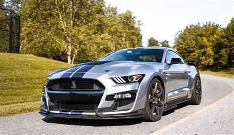 Sunday Car Meet with the 2020 Iconic Silver Mustang Shelby