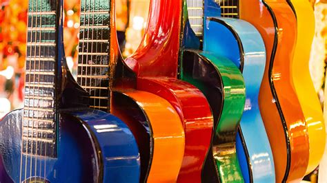 Colorful Guitars HD Wallpapers   HD Wallpapers   ID #21150
