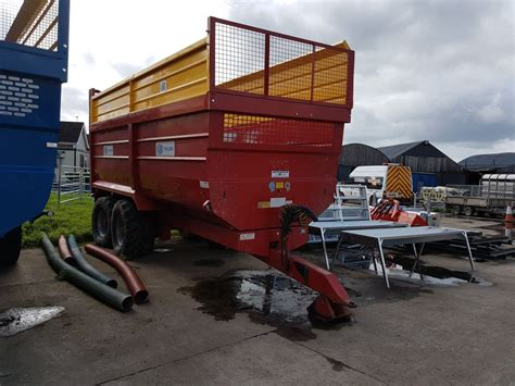 Kane Trailers 16 Ton Grain / Silage Trailer (New and Used