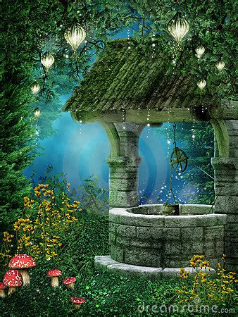 Fantasy Wishing Well Royalty Free Stock Images - Image