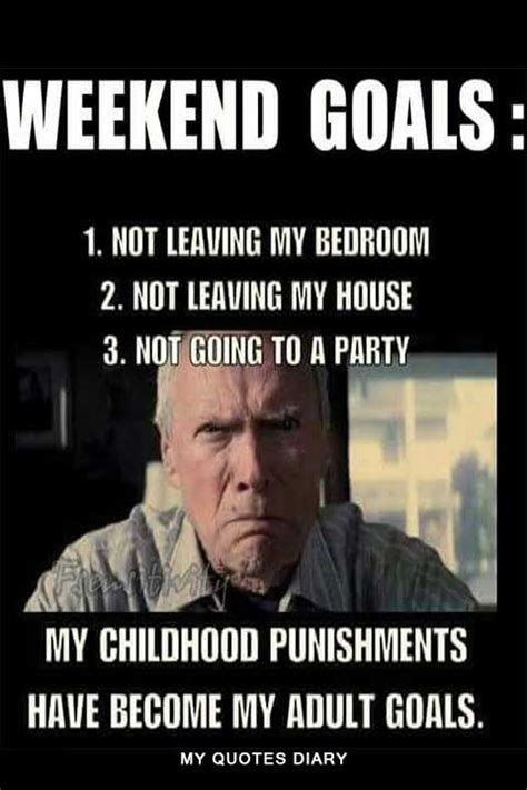 Funny & Happy Weekend Memes Quotes With Funny Weekend