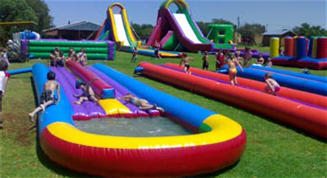 Water slides for Hire in Durban - Rainbow Inflatables