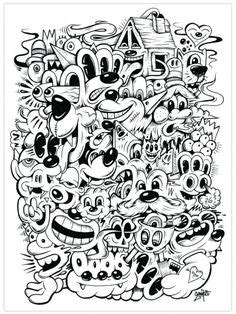 314 Best Trippy/Psychedelic Coloring Pages images